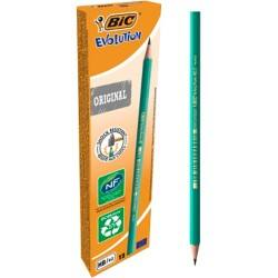 Bic Evolution 650 Hb Woodcase Pencil - Pack of 12