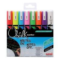 uni-ball Chalk Marker PWE-5M Assorted 8 Pieces