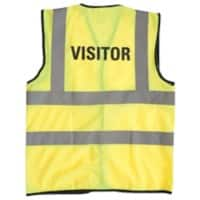 Alexandra Hi-Vis Visitor Vest XL Yellow