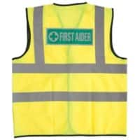 Alexandra Vest Hi-Vis First Aider Polyester M Yellow