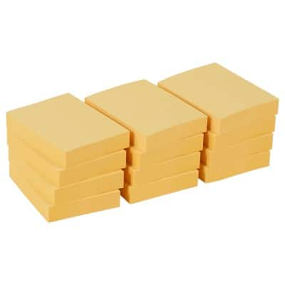 Office Depot Sticky Notes 50 x 38 mm Pastel Yellow 12 Pieces of 100 Sheets