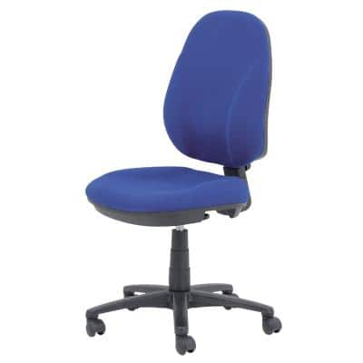 Realspace Ergonomic Office Chair Jura Fabric Blue