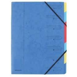 Office Depot 7 Part Organiser File A4, Blue - Each