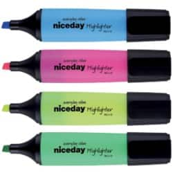 Niceday Highlighter HC1-5 Assorted Pack 10
