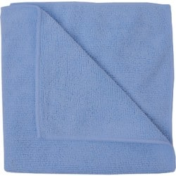 MICROFIBRE CLOTHS BLUE PACK OF 10