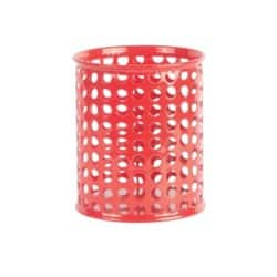 Foray Pencil Pot Mesh Red