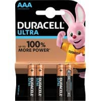 Duracell Battery Ultra Power AAA 4 Pieces