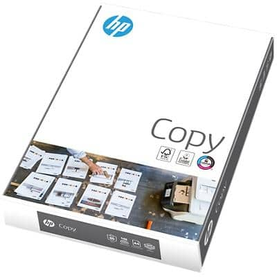 HP Copy Paper A4 80gsm White 500 Sheets