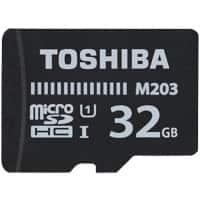 Toshiba Micro SDHC Flash Memory Card M203 32 GB