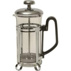Genware 3-Cup Economy Cafetiere Chrome 300 ml/11 oz