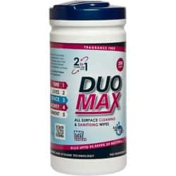 DuoMax Cleaning Wipes fresh