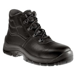 Aimont Safety Boots leather size 6 Black