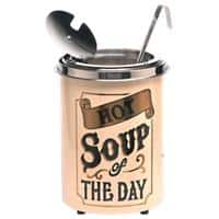 Soupercan Soup Kettle 5.1L Stainless Steel White 1500W