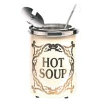 Soupercan Soup Warmer 'Hot Soup' Westminster Cream 5.1 L