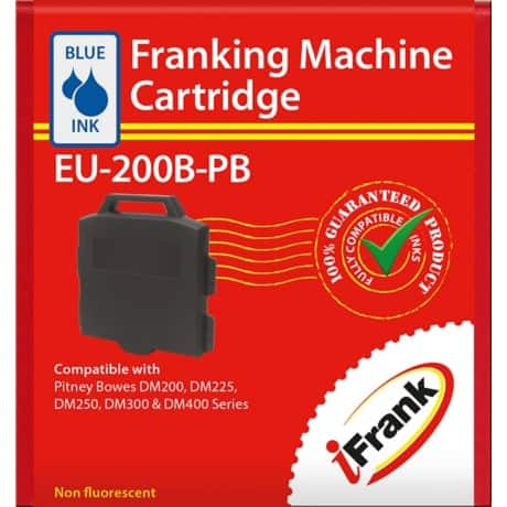 Compatible Franking Ink Red For Pitney Bowes DM200, DM225, DM250 or DM300 Series