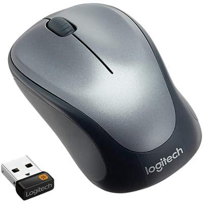 Logitech Wireless Mouse M235 Optical Grey