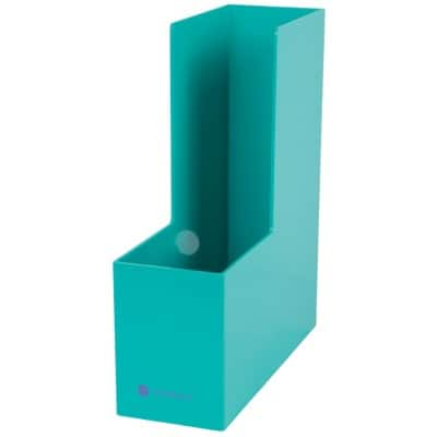 Foray Generation Magazine File Plastic Teal 30 x 9.4 x 26.3 cm