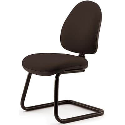 Pledge Visitor Chair Forum Cantilever Black