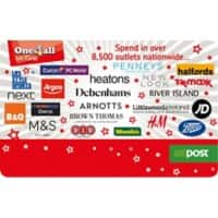 One4all Gift Card Cluster €250