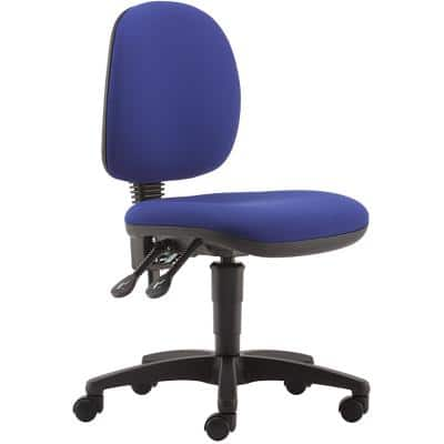 Pledge Permanent Contact Office Chair with Adjustable Seat TW2001 Blue