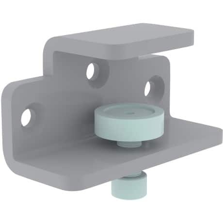 Screen Bracket Grey 2 pieces