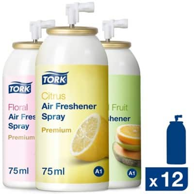 Tork Air Freshener A1 Citrus 12 Pieces of 75 ml