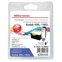 Office Depot 10XLB & 10XLC Compatible Ink Cartridge Black & 3 Colours 2 Pieces