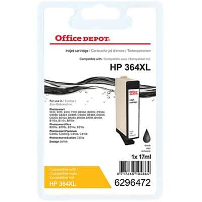 Office Depot Compatible HP 364XL Ink Cartridge CN684EE Black