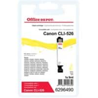 Office Depot Compatible Canon CLI-526Y Ink Cartridge Yellow
