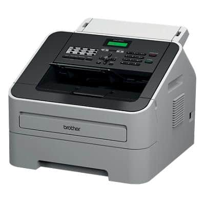 Brother 2840 Fax Machine Black, Grey