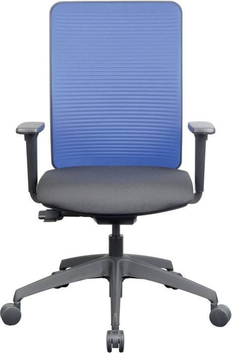 Omega Office Chair Mesh Fabric Synchro Tilt Multicolour Viking