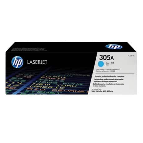 HP 305A Original Toner Cartridge CE411A Cyan