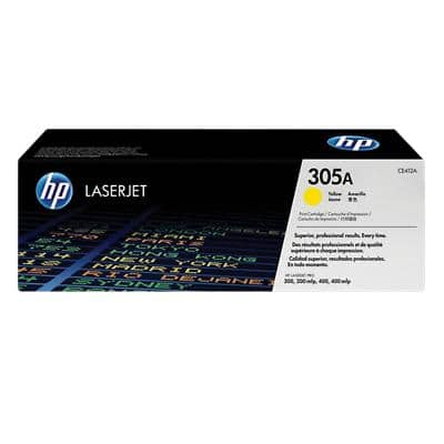 HP 305A Original Toner Cartridge CE412A Yellow