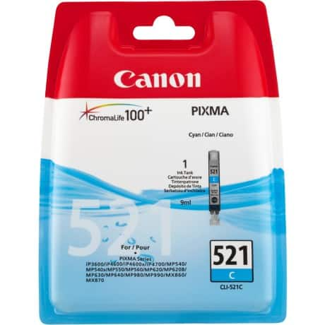 Canon 521C Original Ink Cartridge Cyan