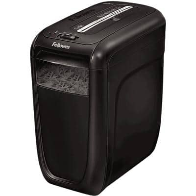 Fellowes Powershred 60Cs Cross-Cut Shredder Security Level P-4 10 Sheets