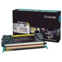 Lexmark X746A1YG Original Toner Cartridge Yellow