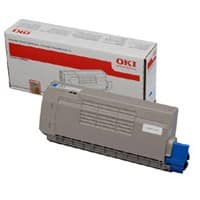 OKI 44318607 Original Toner Cartridge Cyan