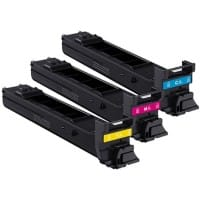 Konica Minolta MC4650 Original Toner Cartridge A0DKJ51 3 Colours 3 pieces