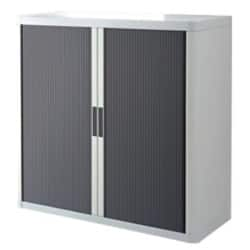 Paperflow Cupboard Easy office White, Anthracite 110 x 41.5 x 104 cm