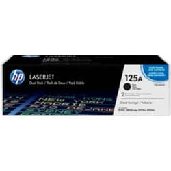 HP 125A Original Toner Cartridge CB540AD Black 2 Pieces