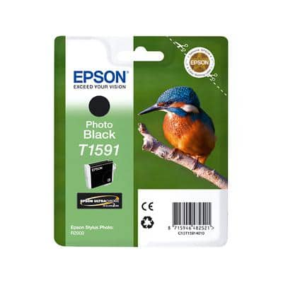 Epson T1591 Original Ink Cartridge C13T15914010 Photo Black