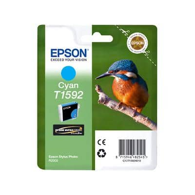 Epson T1592 Original Ink Cartridge C13T15924010 Cyan