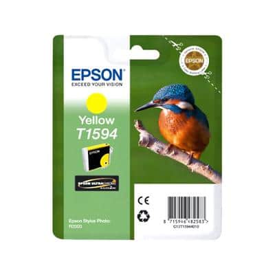 Epson T1594 Original Ink Cartridge C13T15944010 Yellow