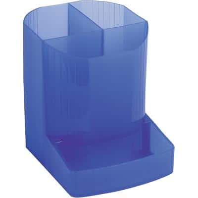 Exacompta Pen Box Mini-Octo Linicolor Polypropylene Blue 9 x 11.1 x 12.3 cm