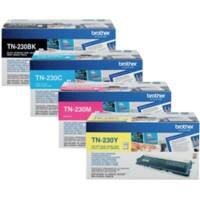 Brother TN-230BK/C/M/Y Original Toner Cartridge Black & 3 Colours