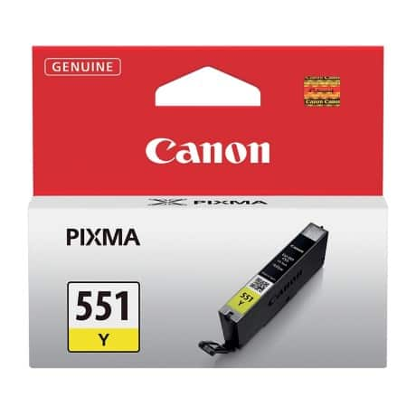 Canon CLI-551 Original Yellow Ink cartridge 6511B001