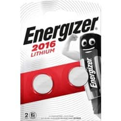 Energizer Batteries Lithium CR2016 2 pieces