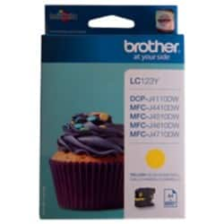Brother LC123Y Original Ink Cartridge Yellow