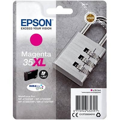 Epson 35XL Original Ink Cartridge C13T35934010 Magenta