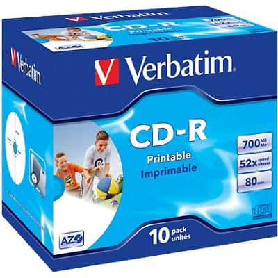Verbatim CD-R Extra Protection 700MB Pack of 10